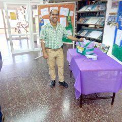 """פעילות בספריה ומצעד הספרים תשע""""ח"""