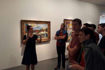 סיור מגמת היסטוריה לספריה הלאומית ולמוזיאון ישראל